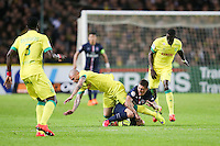 Vincent BESSAT / Marco VERRATTI / Remi GOMIS - 03.05.2015 - Nantes / Paris Saint Germain - 35eme journee de Ligue 1<br />