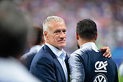 Didier Deschamps (FRA) and Nabil Fekir (FRA) during the UEFA Nations League, League A, Group 1 football match between France and Netherlands on September 9, 2018 at Stade de France stadium in Saint-Denis near Paris, France - Photo Stephane Allaman / ProSportsImages / DPPI