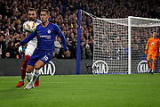 Chelsea FC forward Eden Hazard (10) during the Europa League match between Chelsea and MOL Vidi at Stamford Bridge, London, England on 4 October 2018.