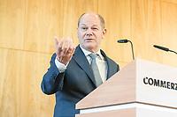 18 JUN 2018, BERLIN/GERMANY:<br /> Olaf Scholz, SPD, Bundesfinanzminister, Veranstaltung Wirtschaftsforum der SPD: &quot;Finanzplatz Deutschland 2030 - Vision, Strategie, Massnahmen!&quot;, Haus der Commerzbank<br /> IMAGE: 20180618-01-077