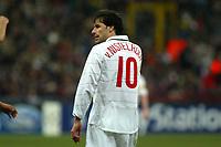 Milan 08-03-2005<br />Champions League 2004-2005<br />Milan Manchester United<br />nella  foto delusione di Van Nistlerooy<br />Foto Snapshot / Graffiti