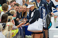 Caroline Wozniacki (Denmark) at the 2017 WTA Ericsson Open in Båstad, Sweden, July 27, 2017. Photo Credit: Katja Boll/EVENTMEDIA.