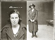 "The barber shop slasher, the back-street abortionist and the 'parasite in a skirt': Vintage Australian mugshots reveal some of the country's earliest women criminals<br /> <br /> Haunting images of the past have emerged, showing vintage black and white portraits of Australian women.<br /> But these are no ordinary women. These are the not-so-innocent faces of convicted criminals who were put behind bars from the 1880s to 1930s.<br /> Among them include the infamous razor gangster and prominent madam of the times - Matilda 'Tilly' Devine.<br /> Others include backyard abortionists, drug dealers and those convicted of bigamy, drunkenness and theft.<br /> most of them were sent to the State Reformatory for Women, Long Bay - south of Sydney - which is now known as Long Bay Correctional Complex.<br /> <br /> <br /> Photo shows:  Mug shot Isabella Higgs, 21 February 1924, Central Police Station, Sydney.<br /> <br /> Special Photograph no. 1091. Thomas Bernard Hooper (39), Harold George Hooper (34), Vera Crichton, (23), and Nancy Cowman (19) are listed in the NSW Police Gazette 24 March 1924 as having been charged with ""conspiring together to procure a miscarriage"" on Isabella Higgs. The women in the case were eventually put on good behaviour bonds. The Hooper brothers received gaol sentences of 12 and 18 months hard labour respectively.<br /> ©NSW Police Gazette/Exclusivepix"