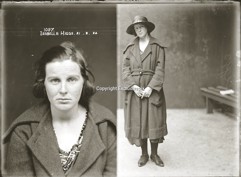 The barber shop slasher, the back-street abortionist and the 'parasite in a skirt': Vintage Australian mugshots reveal some of the country's earliest women criminals<br /> <br /> Haunting images of the past have emerged, showing vintage black and white portraits of Australian women.<br /> But these are no ordinary women. These are the not-so-innocent faces of convicted criminals who were put behind bars from the 1880s to 1930s.<br /> Among them include the infamous razor gangster and prominent madam of the times - Matilda 'Tilly' Devine.<br /> Others include backyard abortionists, drug dealers and those convicted of bigamy, drunkenness and theft.<br /> most of them were sent to the State Reformatory for Women, Long Bay - south of Sydney - which is now known as&nbsp;Long Bay Correctional Complex.<br /> <br /> <br /> Photo shows:  Mug shot Isabella Higgs, 21 February 1924, Central Police Station, Sydney.<br /> <br /> Special Photograph no. 1091. Thomas Bernard Hooper (39), Harold George Hooper (34), Vera Crichton, (23), and Nancy Cowman (19) are listed in the NSW Police Gazette 24 March 1924 as having been charged with &quot;conspiring together to procure a miscarriage&quot; on Isabella Higgs. The women in the case were eventually put on good behaviour bonds. The Hooper brothers received gaol sentences of 12 and 18 months hard labour respectively.<br /> &copy;NSW Police Gazette/Exclusivepix