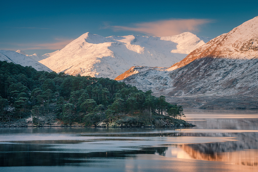 Beinn Fhada from Loch Affric