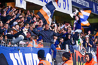 Supporters Montpellier - 08.03.2015 -  Montpellier / Lyon  -  28eme journee de Ligue 1 <br />
