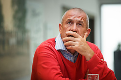 Georges Van Keerberghen (BEL), voorzitter LRV <br /> LRV - Oud Heverlee 2014<br /> © Dirk Caremans