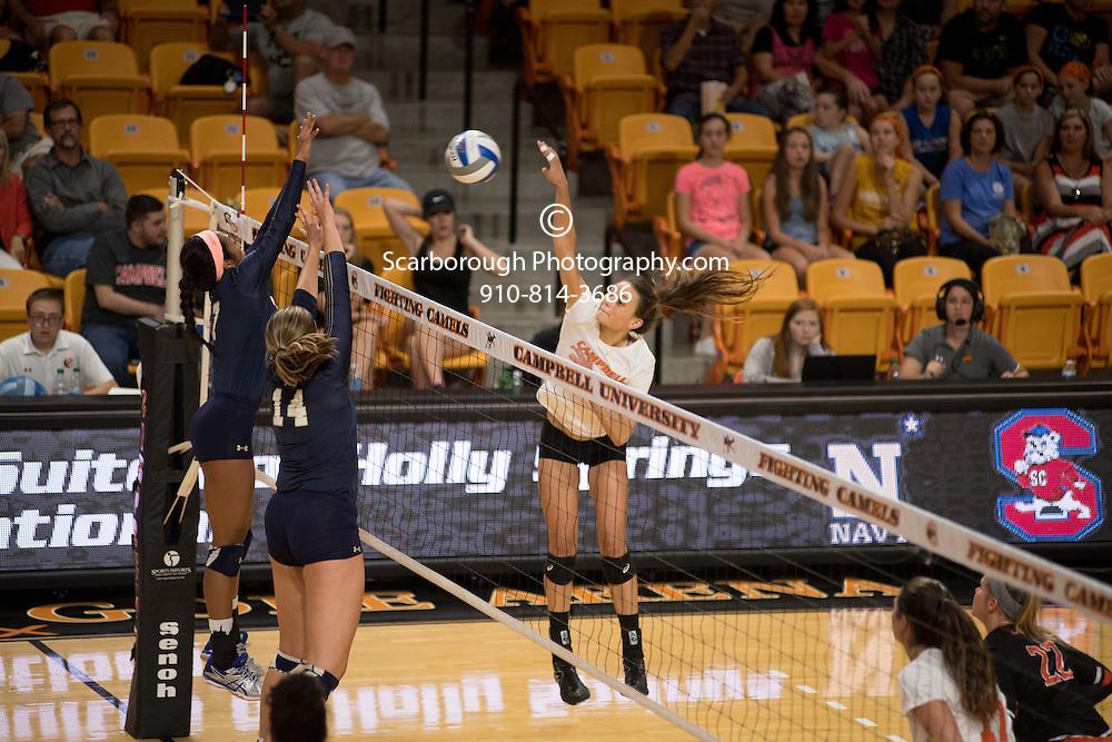 2016 Campbell University Volleyball vs Navy