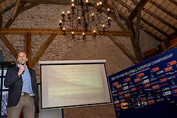 10-02-2017 NED:  Loting CEV U18 Europees Kampioenschap vrouwen, Arnhem<br /> In het Openluchtmuseum te Arnhem was de loting dat begin april in Arnhem wordt gehouden.