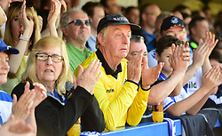 Bristol Rovers fans. - Mandatory by-line: Alex James/JMP - 08/04/2017 - FOOTBALL - Cherry Red Records Stadium - Kingston upon Thames, England - AFC Wimbledon v Bristol Rovers - Sky Bet League One