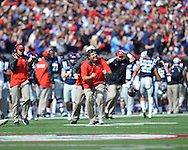 Ole Miss vs. Alabama at Vaught-Hemingway Stadium in Oxford, Miss. on Saturday, October 4, 2014. Ole Miss won 23-17.