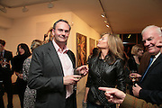 William Cash, Simon Petherick and William Cash host book launch for 'The Turkish Diplomat's Daughter' by Deniz Goran. Maddox Arts. Brooks Mews, Mayfair. 3 October 2007. -DO NOT ARCHIVE-© Copyright Photograph by Dafydd Jones. 248 Clapham Rd. London SW9 0PZ. Tel 0207 820 0771. www.dafjones.com.