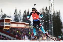 March 10, 2019 - –Stersund, Sweden - 190310 Martin Fourcade of France during the Men's 12,5 km Pursuit during the IBU World Championships Biathlon on March 10, 2019 in Östersund..Photo: Petter Arvidson / BILDBYRÃ…N / kod PA / 92255 (Credit Image: © Petter Arvidson/Bildbyran via ZUMA Press)
