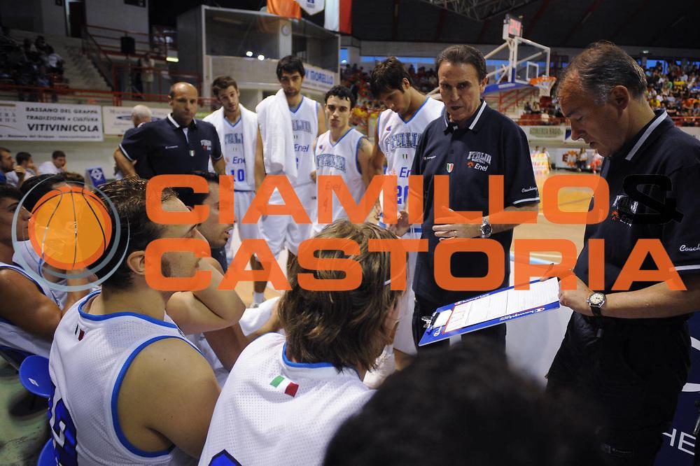 DESCRIZIONE : Nassano del Grappa Trofeo Saiv telecomunicazioni Amichevole Italia Repubblica Ceka<br /> GIOCATORE : Timeout Team Italia<br /> SQUADRA : Nazionale Italia Uomini<br /> EVENTO : Torneo Internazionale<br /> GARA : Italia Repubblica Ceka<br /> DATA : 04/06/2008<br /> CATEGORIA :  Timeout<br /> SPORT : Pallacanestro<br /> AUTORE : Agenzia Ciamillo-Castoria/M.Gregolin