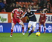 Dundee&rsquo;s Craig Wighton and Aberdeen&rsquo;s Ryan Jack - Aberdeen v Dundee in the Ladbrokes Scottish Premiership at Pittodrie, Aberdeen - Photo: David Young, <br /> <br />  - &copy; David Young - www.davidyoungphoto.co.uk - email: davidyoungphoto@gmail.com