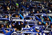 Fotball , 13. november 2013 , Kvalifisering til  Tippeligaen , Eliteserien<br /> Sarpsborg - Ranheim 1-0<br /> illustrasjon , Fossefallet , Sarpsborg , Skjerf publikum , fan , fans