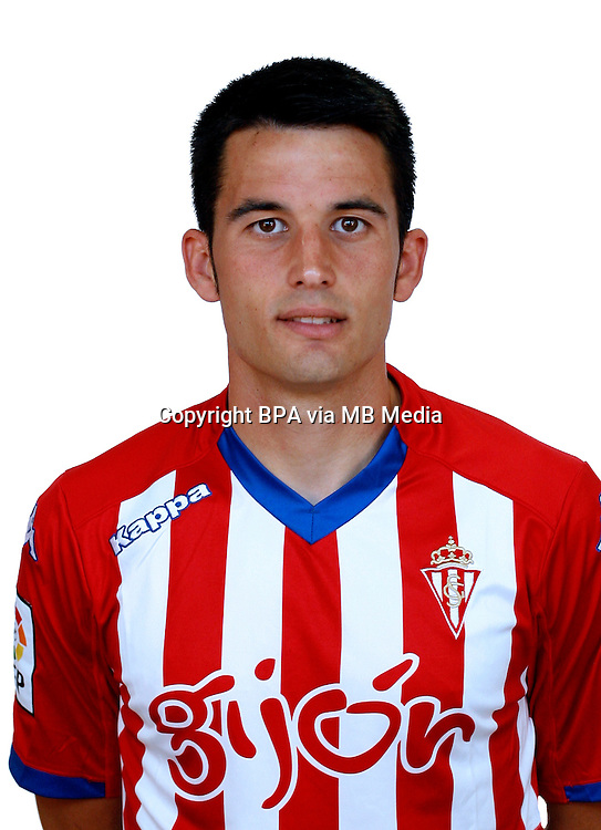 Spain - La Liga Adelante 2014-2015 / <br /> ( Real Sporting de Gijon ) - <br /> Ismael Lopez Blanco &quot; Isma Lopez &quot;