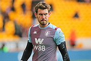 Jed Steer of Aston Villa during the Premier League match between Wolverhampton Wanderers and Aston Villa at Molineux, Wolverhampton, England on 10 November 2019.