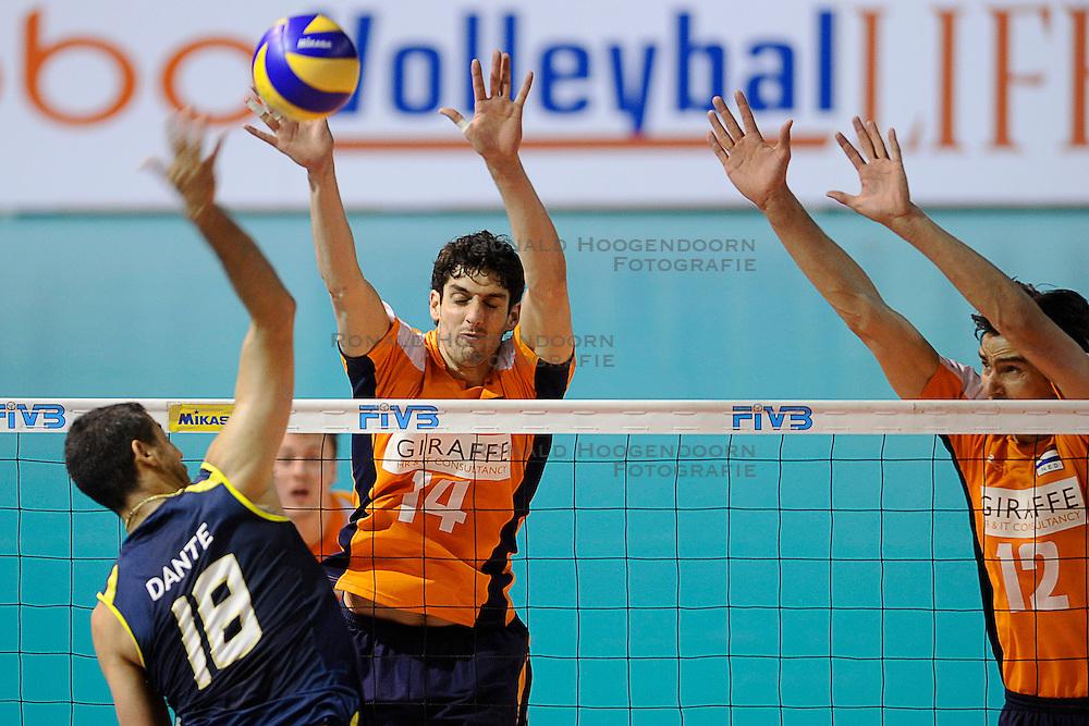 27-06-2010 VOLLEYBAL: WLV NEDERLAND - BRAZILIE: ROTTERDAM<br /> Nederland verliest met 3-2 van Brazilie / Niels Klapwijk<br /> &copy;2010-WWW.FOTOHOOGENDOORN.NL