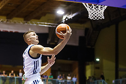 Edo Muric of Slovenia during friendly basketball match between National teams of Slovenia and Hungary on day 1 of Adecco Cup 2017, on August 4th in Arena Tabor, Maribor, Slovenia. Photo by Grega Valancic/ Sportida