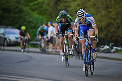 Action from Bath Cycle Races in Victoria Park on May 23rd, 2012. Photo by Simon Parker/SPactionimages