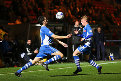 Peter Vincenti of Rochdale chests the ball down - Mandatory byline: Matt McNulty/JMP - 07966 386802 - 06/10/2015 - FOOTBALL - Spotland Stadium - Rochdale, England - Rochdale v Chesterfield - Johnstones Paint Trophy