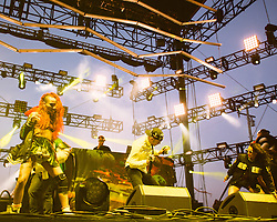 Major Lazer performs at The Treasure Island Music Festival - San Francisco, CA - 10/19/13