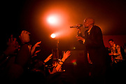 © Naki Kouyioumtzis/ PYMCA.<br /> Faithless, live in secret location, in London's west end.<br /> 19/5/2005