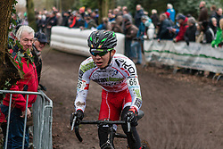 Yu Takenouchi (JPN) of Veranclassic - Ekoi, Men Elite, Cyclo-cross World Cup Hoogerheide, The Netherlands, 25 January 2015, Photo by Pim Nijland / PelotonPhotos.com