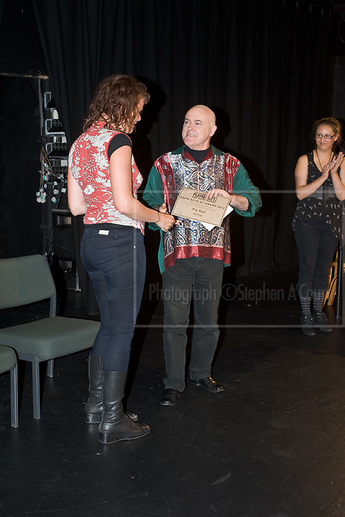 Playmarket's Adam NZ Play Award, presented at Circa Theatre on 24 March 2012.