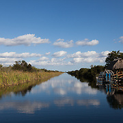 MIAMI, experiencing the Authentic Everglades Tour with John Tiger Tails on his airboat.