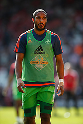 Swansea City's Ashley Williams during warm ups - Mandatory by-line: Jason Brown/JMP - 07966 386802 - 26/09/2015 - FOOTBALL - Southampton, St Mary's Stadium - Southampton v Swansea City - Barclays Premier League