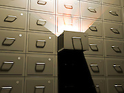 file cabinet with light emitting