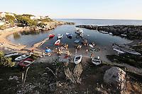 Porticciolo di pescatori, località Saturo, Taranto