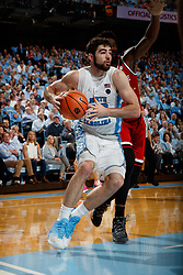 CHAPEL HILL, NC - JANUARY 27: Luke Maye #32 of the North Carolina Tar Heels plays against the North Carolina State Wolfpack on January 27, 2018 at the Dean Smith Center in Chapel Hill, North Carolina. North Carolina lost 95-91. (Photo by Peyton Williams/UNC/Getty Images) *** Local Caption *** Luke Maye