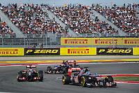 Jean-Eric Vergne (FRA) Scuderia Toro Rosso STR9.<br /> United States Grand Prix, Sunday 2nd November 2014. Circuit of the Americas, Austin, Texas, USA.
