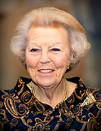AMSTERDAM - Princess Beatrix attends the 21st edition of the Dutch Ballet Gala of Stichting Dansersfonds 79 in the International Theater Amsterdam. The gala was dedicated this year to Ted Brandsen, artistic director of Dutch National Ballet, because he succeeded in getting the dance company in the international top. copyright robin utrecht