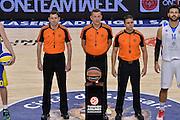 DESCRIZIONE : Eurolega Euroleague 2015/16 Group D Dinamo Banco di Sardegna Sassari - Maccabi Fox Tel Aviv<br /> GIOCATORE :  PUKL,SASA (SLO), JOVCIC, MILIVOJE (SRB), PERUGA, CARLOS (ESP)<br /> CATEGORIA : Arbitro Referee<br /> SQUADRA : Arbitro Referee<br /> EVENTO : Eurolega Euroleague 2015/2016<br /> GARA : Dinamo Banco di Sardegna Sassari - Maccabi Fox Tel Aviv<br /> DATA : 03/12/2015<br /> SPORT : Pallacanestro <br /> AUTORE : Agenzia Ciamillo-Castoria/L.Canu