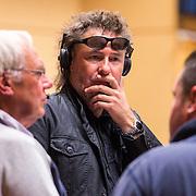 NLD/Hilversum/20130930 - Repetitie Metropole Orkest voor concert, Maurice Luttikhuizen in gesprek met Dick Bakker en Frans Duijts