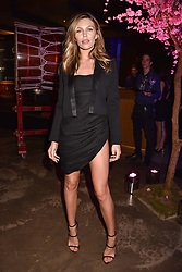 Abbey Clancy at the launch of Nobu Hotel London Shoredith,10-50 Willow Street, London, England. 15 May 2018.
