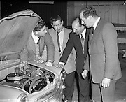 31/01/1957 <br /> 01/31/1957<br /> 31 January 1957<br /> <br /> Fiat Car - Conversion Unit Demonstration at Henderson's