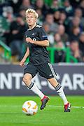 Birger Meling (#3) of Rosenborg BK during the UEFA Europa League group stage match between Celtic FC and Rosenborg BK at Celtic Park, Glasgow, Scotland on 20 September 2018.