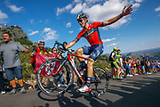 Ivan Garcia Cortina (ESP, Bahrain Merida) during the 73th Edition of the 2018 Tour of Spain, Vuelta Espana 2018, Stage 13 cycling race, Candas Carreno - La Camperona 174,8 km on September 7, 2018 in Spain - Photo Luca Bettini / BettiniPhoto / ProSportsImages / DPPI