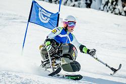 Jernej Slivnik, Slovenian Winter Paralympic Alpine Skier, on February 15, 2018 in Kranjska Gora. Photo by Vid Ponikvar / Sportida