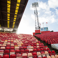 Aberdeen v Kilmarnock, Scottish Premiership, 27th January 2018<br /> <br /> Aberdeen v Kilmarnock, Scottish Premiership, 27th January 2018 &copy; Scott Cameron Baxter | SportPix.org.uk<br /> <br /> Pittodrie prior to kick off between Aberdeen and Kilmarnock.
