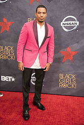 August 6, 2017 - New Jersey, U.S - LAZ ALONZO, at the Black Girls Rock 2017 red carpet. Black Girls Rock 2017 was held at the New Jersey Performing Arts Center in Newark New Jersey. (Credit Image: © Ricky Fitchett via ZUMA Wire)