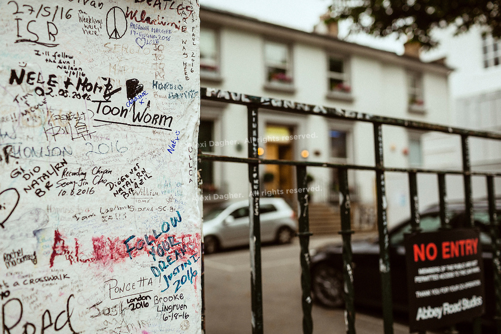 Abbey Road Studios Signatures - London, England, 2016