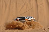 Motor<br /> Foto: Dppi/Digitalsport<br /> NORWAY ONLY<br /> <br /> MOTORSPORT - DAKAR 2007 - STAGE 8 - ATAR . TICHIT 14/01/2007 <br /> <br /> CAR - NASSER AL ATTIYAH (QAT) - ALAIN GUEHENNEC / BMW X RAID X3 - ACTION