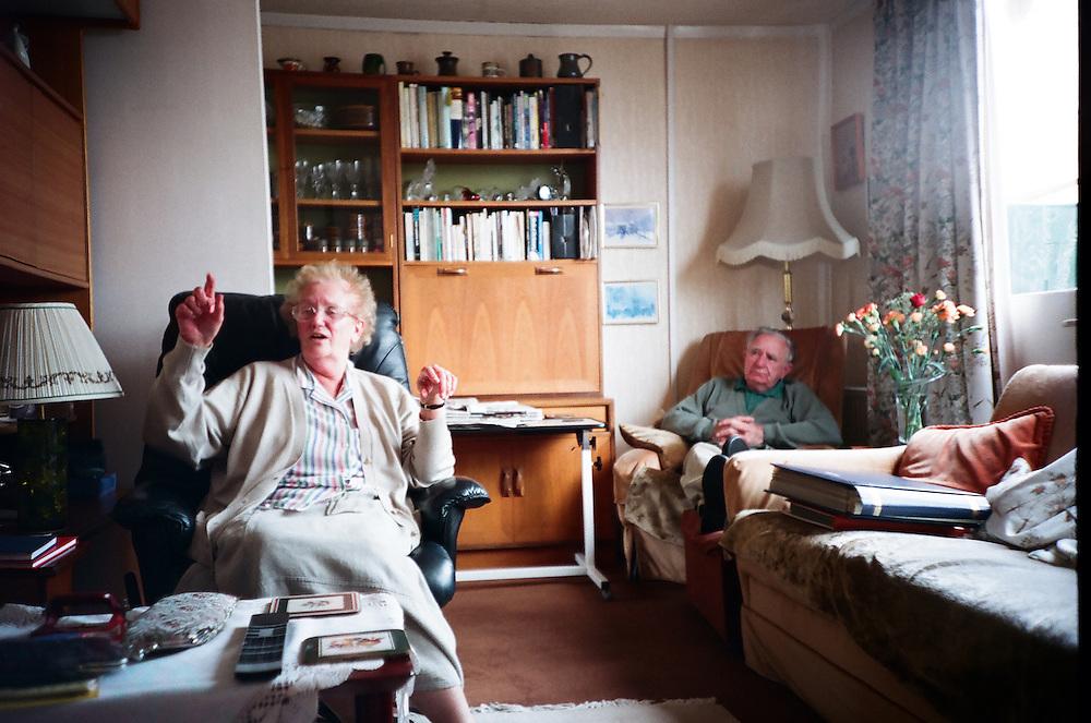 Post-war prefabs at the Bishpool and Treberth Estates in Newport, Wales