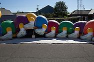 Little Balkans Days in Pittsburg, Kansas features a children's carnival, Sep. 4, 2010.